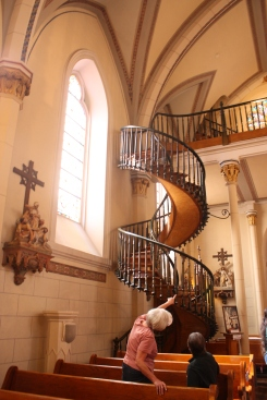 Stairway in Church of Laretto